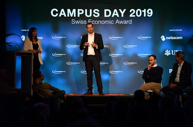Nomination für den Swiss Economic Award 2019