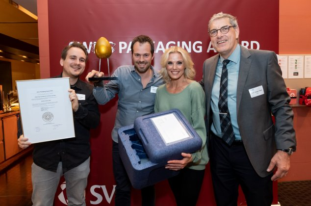 SwissShrimp gewinnt Swiss Packaging Award